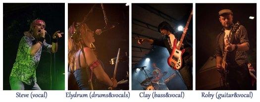 TheApplestones band photo copia